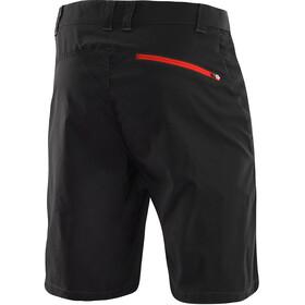 Löffler Comfort CSL Shorts Ciclismo Hombre, negro/rojo